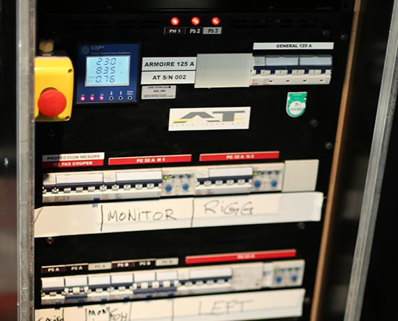 Distribution armoire électrique