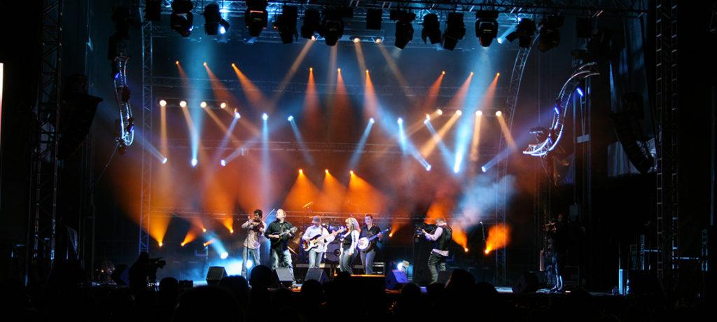 Lumière éclairage concert festival