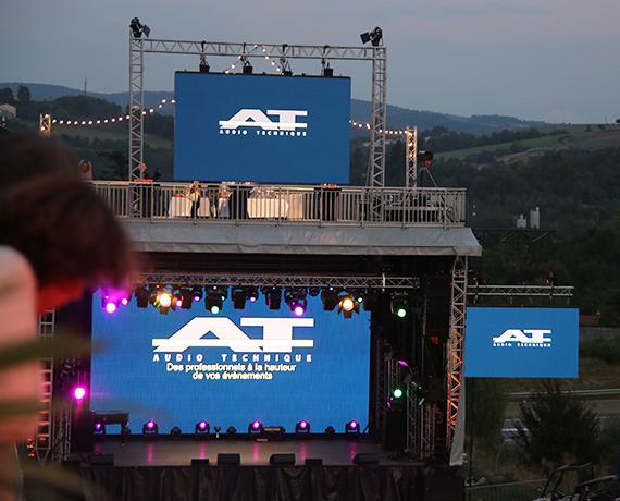 Scène location prestation événements concert
