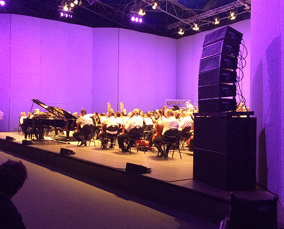 Sonorisation musique concert